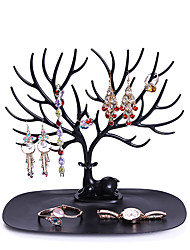 cheap -Jewelry Organizers Desktop Organizers Necklace Earring Display Tree Rack