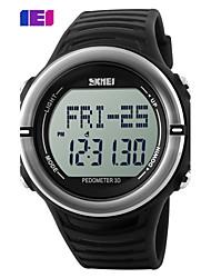 Недорогие -SKMEI Муж. Спортивные часы электронные часы Цифровой Plastic Группа Черный Зеленый Желтый