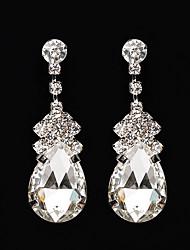 cheap -Women's Drop AAA Cubic Zirconia / Rhinestone Cubic Zirconia Drop Earrings - Classic / Vintage / Elegant Silver Earrings For Wedding /