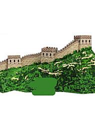 baratos -Quebra-Cabeças 3D Maquetes de Papel Artesanato de Papel Brinquedos de Montar Construções Famosas Arquitetura Chinesa Arquitetura Faça