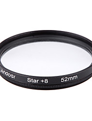 Andoer 52mm Filter Set UV  CPL  Star 8-Point Filter Kit with Case for Canon Nikon Sony DSLR Camera Lens