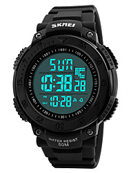 cheap -SKMEI Men's Digital Watch Wrist watch Military Watch Fashion Watch Sport Watch Japanese Digital Alarm Calendar / date / day Chronograph