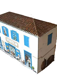 cheap -3D Puzzle Paper Craft Famous buildings House DIY Hard Card Paper Kid's Unisex Gift