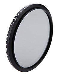 Andoer 82 мм и нейтральная плотность фейдера с регулируемым фильтром nd2 до nd400 для камеры canon nikon dslr