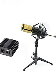 cheap -Professional BM 800 Condenser Microphone Pro Audio Studio Vocal Recording Mic With 48v Phantom Power