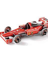 cheap -3D Puzzles Jigsaw Puzzle Race Car Toys Car 3D DIY High Quality Paper Not Specified Unisex Pieces