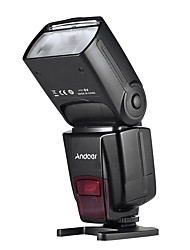 Andoer AD560 IV 2.4G Wireless Universal On-camera Slave Speedlite Flash Light GN50 LCD Display for Canon Nikon Olympus Pentax
