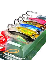 cheap -5pcs pcs Soft Bait Silica Gel Sea Fishing Other