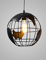 cheap -Flush Mount   Modern/Globe Lamp/Lodge Nature Inspired Chic & Modern Country Traditional/Classic Retro Painting Feature for Matte