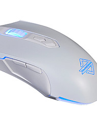 AJAZZ AJ52 Wired Gaming Mouse Breathing Lights Programmable 2400DPI A5050IC