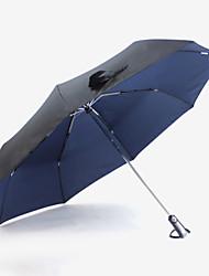 Ombrello creativo di gel ombrello nero da sole da 125 cm