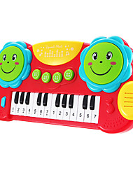 cheap -Dollhouse Accessory Toy Instruments Electronic Keyboard Piano Toys Fun Plastics Pieces Kids' Kid Birthday Gift