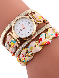 Wholesale Ladies Watch Braided Rope Women Quartz Watch Geneva Vintage Watches Hot Fashion Women Fashion Watch 918682