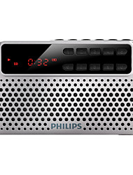 abordables -PHILIPS SBM120 FM Radio FM / Enceinte interne World Receiver Argent / Bleu