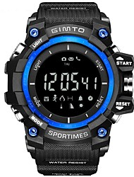 Smart Electronics Digital Watch Men Waterproof Outdoor LED Men Sports Watch Barometer Thermometer Altitude UV Monitoring