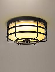 Lámpara de techo de cristal para dormitorio y sala de reserva