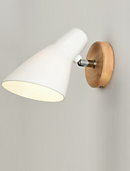 cheap -Antique Modern/Contemporary Wall Lamps & Sconces For Wood/Bamboo Wall Light 110-120V 220-240V 60W