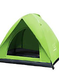 cheap -2 persons Travel Bag Inflated Mat Beach Tent Double Camping Tent Fold Tent Keep Warm Rain-Proof for Stretch Satin CM