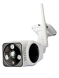 economico -Veskys® outdoor impermeabile 180 gradi 2.0mp fisheye panoramico vr wireless telecamera di sicurezza ip