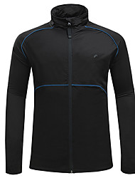 cheap -Cycling Jacket Bike Top Bike Wear Windproof Rain-Proof Wearable Static-free Comfortable Camping / Hiking Exercise & Fitness Leisure