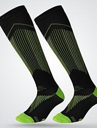 Недорогие -Простой Спортивные носки / спортивные носки Муж. Носки Все сезоны Противозаносный / Износоустойчивый Хлопок Футбол