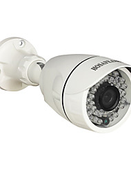 HOSAFE® 4MB6P H.265 4.0MP 1520P POE Outdoor IP Camera w/ ONVIF/ 36-IR-LED/  Motion Detection