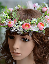 Little Camellia Wedding Bridal  Child Bridal Head wreath  Flower More Colors