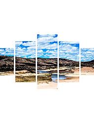 economico -Moda Paesaggio 3D Adesivi murali Adesivi aereo da parete Adesivi 3D da parete Adesivi decorativi da parete 3D MaterialeDecorazioni per la