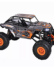 Carro com CR WL Toys 10428-E 2.4G Rock Climbing Car Off Road Car Alta Velocidade 4WD Drift Car Carroça 1:10 18 KM / H Controlo Remoto