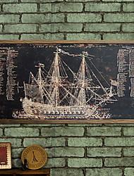 baratos -Decoração de Parede Madeira Artistíco Retro Arte de Parede,1