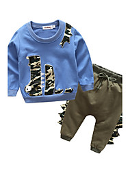 Baby Kids' Outdoor Sport Casual/Daily Sports Clothing Set,Cartoon Spring/Fall