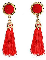 cheap -Belly Dance Jewelry Women's Performance Polyester Tassel Earrings