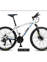 Недорогие -Горный велосипед Велоспорт 27 Скорость 26 дюймы / 700CC MICROSHIFT 24 Двойной дисковый тормоз Передняя вилка с амортизацией Обычные / Противозаносный Алюминий