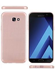 Hülle Für Samsung Galaxy A5(2017) A3(2017) Mattiert Rückseitenabdeckung Volltonfarbe Hart PC für A3 (2017) A5 (2017) A7 (2017) A7(2016)