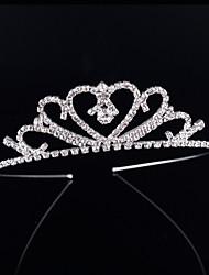 cheap -Crystal Rhinestone Alloy Tiaras Headbands 1 Wedding Special Occasion Birthday Party / Evening Headpiece
