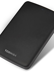 cheap -TOSHIBA 1TB 2.5 Inch USB3.0 Plastic Black Indicator Light Matte Texture External Hard Drive