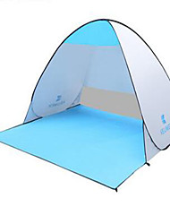 economico -3-4 persone Tappetino da campeggio Igloo da spiaggia Tenda da campeggio Igloo da spiaggia Resistente ai raggi UV per Campeggio e hiking