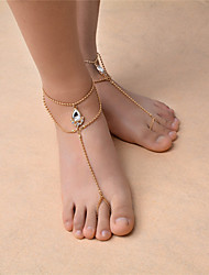 cheap -Women's Anklet/Bracelet Synthetic Gemstones Rhinestone Fashion Bohemian Drop Jewelry For Dailywear Casual Outdoor clothing Going out