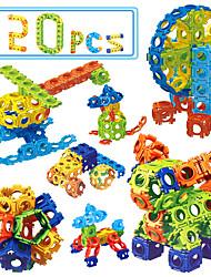 baratos -Blocos de Construir Brinquedo Educativo 120 pcs Eagle Faça Você Mesmo Unisexo Para Meninos Para Meninas Brinquedos Dom