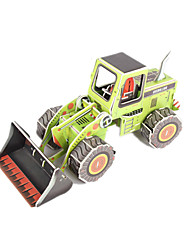 cheap -3D Puzzles Model Building Kits Toys Forklift DIY High Quality Paper Not Specified Unisex Pieces