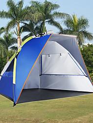 Недорогие -3-4 человека Световой тент Тент для пляжа Один экземляр Палатка Автоматический тент Ультрафиолетовая устойчивость Дожденепроницаемый