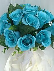 economico -Bouquet sposa Bouquet Matrimonio Raso 22 cm ca.