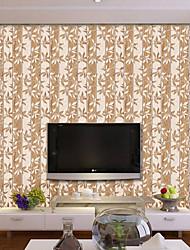 Árvores/Folhas Art Deco Madeira Papel de Parede Para Casa Moderno Revestimento de paredes , Vinil Material Auto-adesivo papel de parede ,