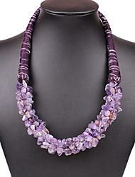 Women's Chain Necklaces Multi-stone Jewelry Natural Stone Bikini Euramerican Fashion Vintage Bohemian Luxury Statement Jewelry Ctystal Stone