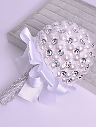 Bouquet sposa Bouquet Matrimonio Con perline 14 cm ca.