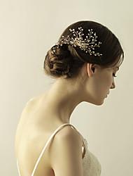 economico -pettini di cristallo fiori copricapo classico stile femminile