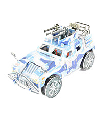 cheap -Toy Cars 3D Puzzles Jigsaw Puzzle Tank Chariot 3D DIY High Quality Paper Classic 6 Years Old and Above