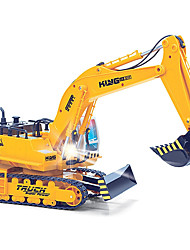 RC Car HUINA 1310 11 Channel 2.4G Excavating Machinery Excavator 1:16 Brush Electric KM/H Remote Control Rechargeable Electric
