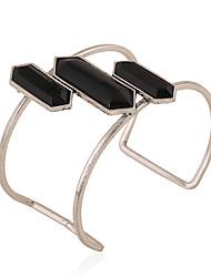 Жен. Браслет цельное кольцо Браслет разомкнутое кольцо Мода Богемия Стиль Металлический сплав Резина Бижутерия НазначениеОсобые случаи