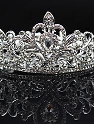 cheap -Rhinestone Alloy Tiaras 1 Wedding Special Occasion Party / Evening Headpiece